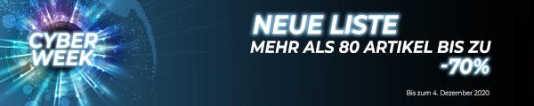 Cyber week bis zum 4. december