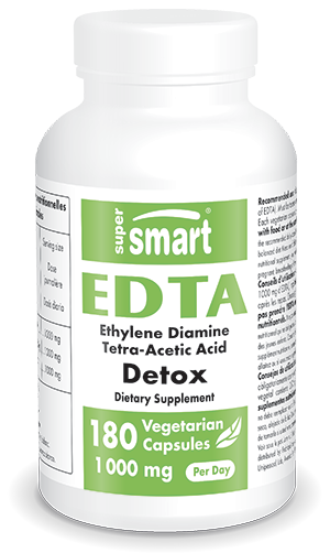 EDTA 250 mg - Detoxification - Supersmart.com
