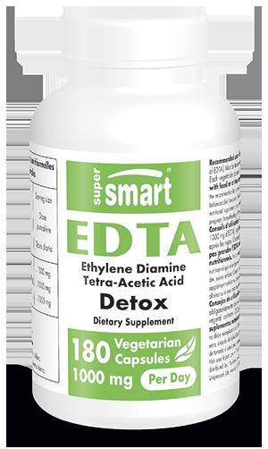Ethylene Diamine Tetra Acetic Acid - EDTA 250 mg - Chelation