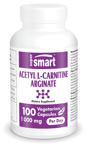 Acetyl L Carnitine Arginate 500 mg 100 Vcaps