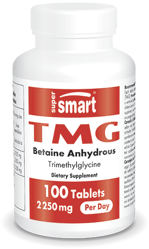 TMG (Triméthylglycine) 750 mg