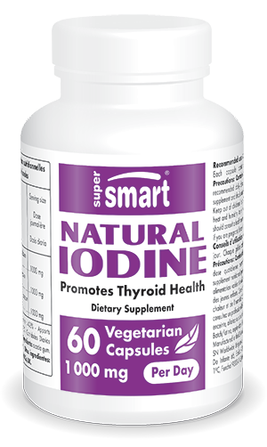 Natural Iodine 500 mg