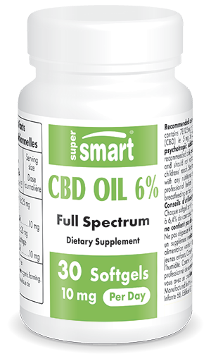 CBD Oil 6 % | CBD Hemp Oil Standardised to 6 4% Cannabidiol
