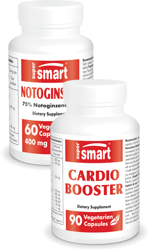 Pack Pack Notoginseng + Cardio Booster