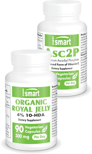 Organic Royal Jelly + Asc2P