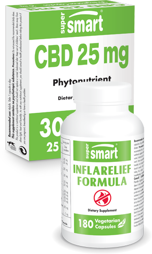 CDB Oil 25mg + Inflarelief Formula