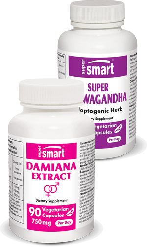 Damiana + Super Aswhagandha