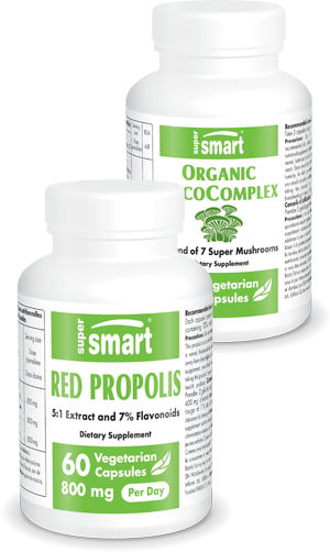 Red Propolis + Organic MycoComplex