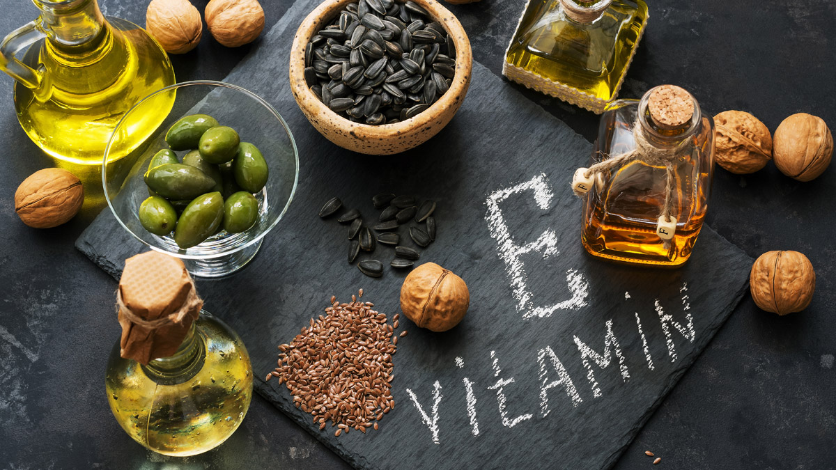 Aliments riches en vitamines E